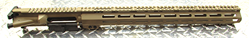 Gorilla MFG AR-15 TEFLON Tan Coating  Upper Receiver With Handgaurd Color Combo