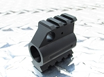 GORILLA MFG AR-15 Rail Height Gas Block Picatinny Rail