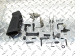 GORILLA MFG AR-15 .223/5.56 Complete Lower Parts Assembly kit Gen 2 Nickel Coated