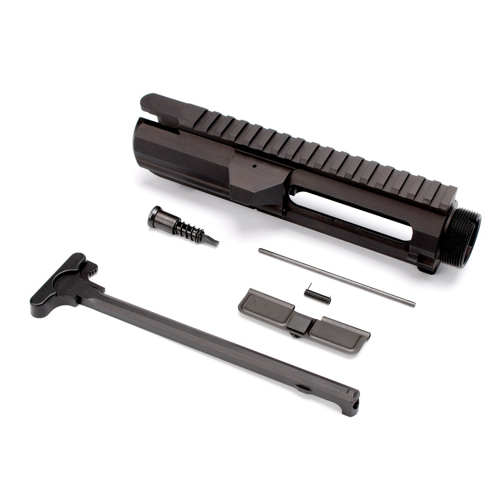 Gorilla Machining AR-10 - DPMS Low Top Billet Upper Receiver W/Forward Assist, Dust Cover and Charging Handle