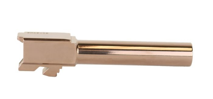Gorilla Machining Glock 19 4150 CVS Barrel Premium Rose Gold Finish