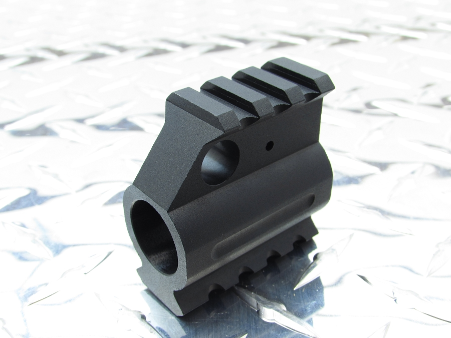 Gorilla Machining AR-15 - Rail Height Gas Block Picatinny Rail