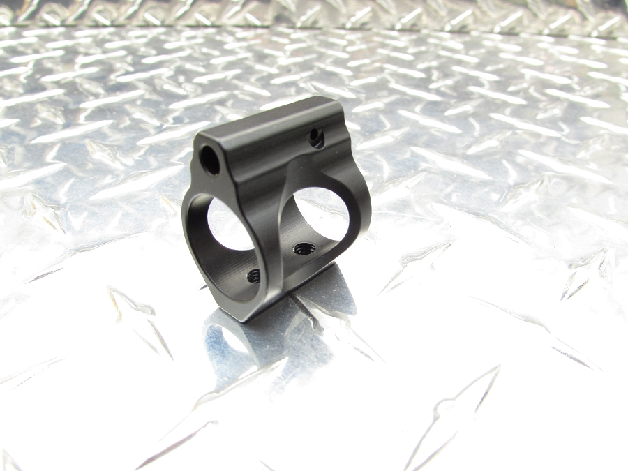 Gorilla Machining AR-15/10 - Gen 3 Low Profile Adjustable Gas Block QPQ Coated