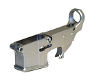 Gorilla Machining  80% Lower Receiver Frame Cerro Forging Silver
