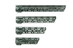 Gorilla Machining AR15 Gen 2 Free Float Handgaurd M-LOK Rail  W/QD Swivel 7-15