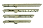 Gorilla Machining AR15 Gen 1 Tan Free Float Handguard M-LOK Rail 10.5-17