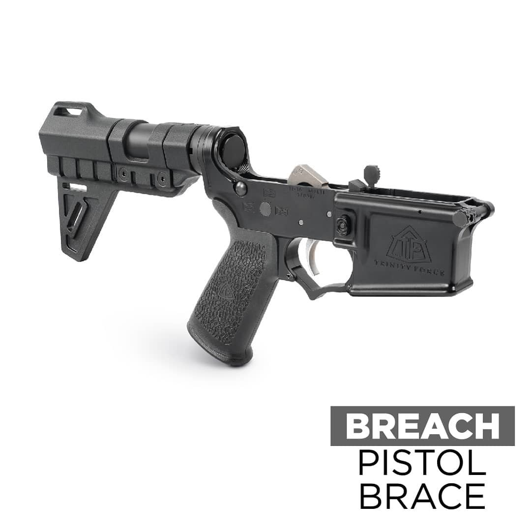 Gorilla Machining Trinity Force Breach Pistol Brace