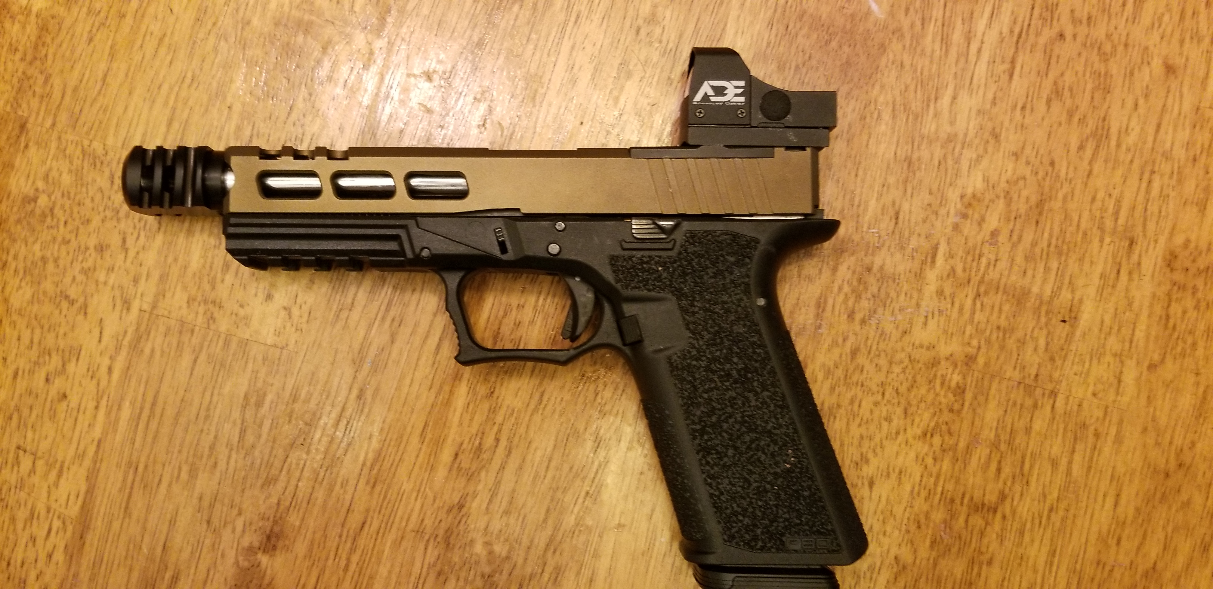 Gorilla Machining Glock 17 Build Your Upper Half Custom Slides with RMR cut  out