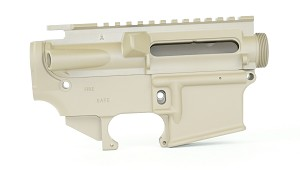 Gorilla Machining M4A4 AR15 Anchor Harvey  Stripped Upper and Stripped 80% Lower Receiver Magpul FDE Combo Set
