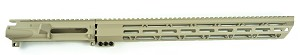 Gorilla MFG AR-15 CERAKOTE Tan Coating  Upper Receiver With Handgaurd Color Combo