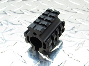 Gorilla Machining AR-15/10 - Gas Block Quad Picatinny Rail